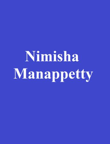 Nimisha Manappetty